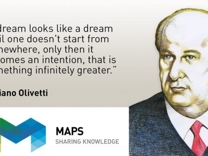 """Maps Group: """"dedications"""" as added value in a system of shared corporate values."""