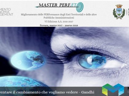 Master PERF.ET.: Maps Group promuove il cambiamento!