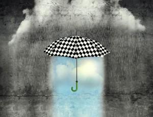 Pioggia e creatività