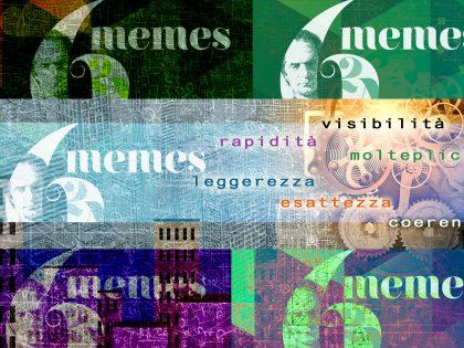 """6MEMES: sei """"tag"""" in cerca d'autore tra leggerezza e molteplicità."""