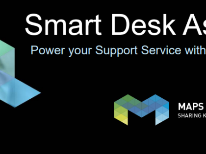 Managing Service Desk processes with AI: introducing Smart Desk Assistant by Maps.