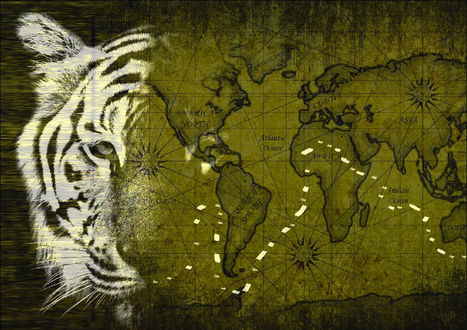 Cartina Mondo Tiger.La Mappa Geografica Del Mondo Da Sandokan In Poi Di Giulio Destri