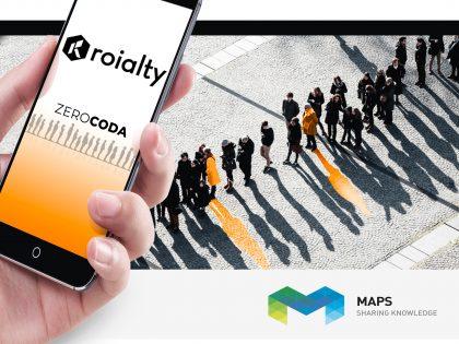 """MAPS conferma la continuità operativa e lancia l'app """"Roialty ZeroCoda"""" per il settore Retail"""